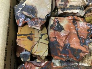 Z Indian Paint Stone Rough 36 Lbs