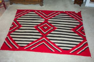NAVAJO SECOND PHASE/THIRD PHASE CHIEF ' S BLANKET 2