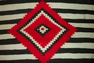 NAVAJO SECOND PHASE/THIRD PHASE CHIEF ' S BLANKET 3