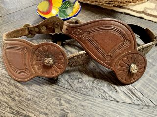 Gorgeous E Garcia Spurs And Leather Straps By Ron Reed Lyon Colo