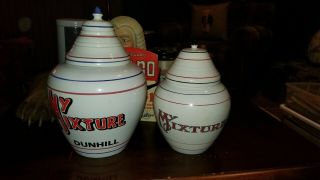 ●dunhill My Mixture Pipe Tobacco Jar Made For Pcca.  Few Were Made.  Very Rare