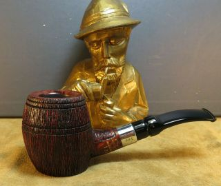Top Poul Winslow Whisky Pipe 120 Handmade In Denmark 9 Mm Filter