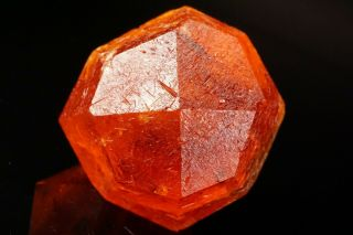 Extraordinary Orange Spessartine Garnet Crystal Loliondo,  Tanzania