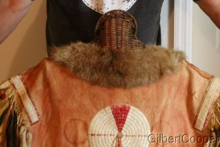SIOUX SHAMANS BEADED AND QUILLED WAR SHIRT - MULTIPLE DROPS 6
