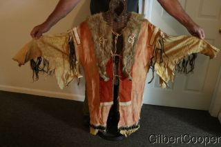 SIOUX SHAMANS BEADED AND QUILLED WAR SHIRT - MULTIPLE DROPS 8
