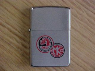 Vintage Zippo Lighter - Military - Vietnam - Vietnam Builders - Rmk/brj - - 1969