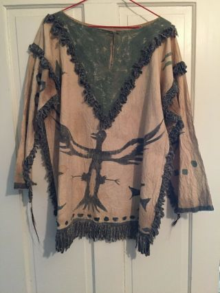 Oglala Lakota Sioux Ghost Dance Shirt,  C.  1890