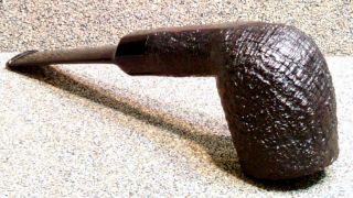 Dunhill - Shell Briar,  Oda 843,  Year 1985 - Smoking Estate Pipe / Pfeife
