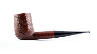 Estate Pipe Pfeife Pipa - Jess Chonowitsch - Large Billiard,  Sandblast