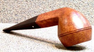 Dunhill - Root Briar 46,  Group 2 Petite Bulldog - Smoking Estate Pipe / Pfeife
