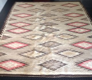 Antique Vintage Navajo Native American Rug