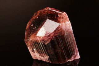Classic Rubellite Tourmaline Crystal Malkhan,  Russia
