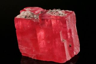 EXTRAORDINARY Rhodochrosite Crystal with Quartz SWEET HOME MINE,  COLORADO 2