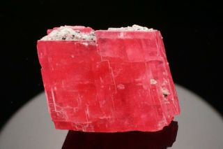 EXTRAORDINARY Rhodochrosite Crystal with Quartz SWEET HOME MINE,  COLORADO 3