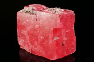 EXTRAORDINARY Rhodochrosite Crystal with Quartz SWEET HOME MINE,  COLORADO 4