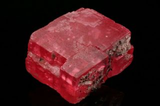 EXTRAORDINARY Rhodochrosite Crystal with Quartz SWEET HOME MINE,  COLORADO 5