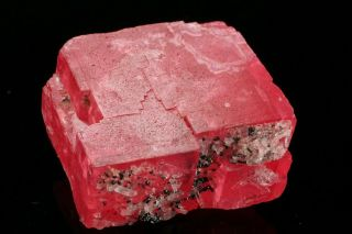 EXTRAORDINARY Rhodochrosite Crystal with Quartz SWEET HOME MINE,  COLORADO 6