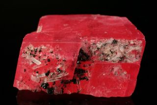 EXTRAORDINARY Rhodochrosite Crystal with Quartz SWEET HOME MINE,  COLORADO 7