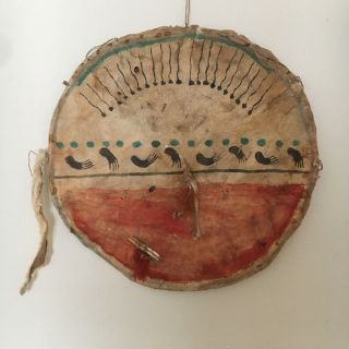 Vintage Crow Indian Shield.  Plains Indian Native American Sioux