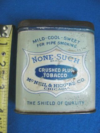 Vintage None - Such Tobacco Pocket Tin