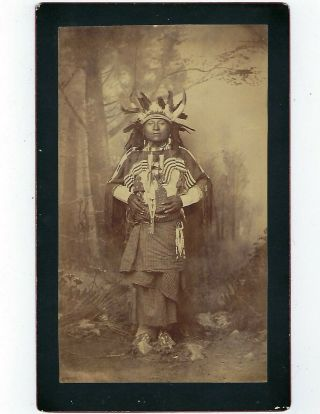 Old Photo Of Comanche John By A.  Frank Randall