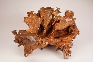 EXTRAORDINARY c 1856 Native Copper Crystal COPPER FALLS MINE,  MICHIGAN Ex Obodda 6
