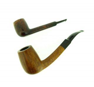 Poul Ilsted Pocket Magnum Faceted Shank Straight Grain Pipe
