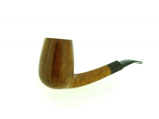 POUL ILSTED POCKET MAGNUM FACETED SHANK STRAIGHT GRAIN PIPE 9