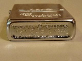 1950 - 57 ZIPPO PAT.  PEND/2517191 TOWN AND COUNTRY BEECHCRAFT 18 AD LIGHTER 7