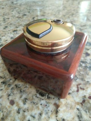 Elie Bleu Burlwood Table Lighter