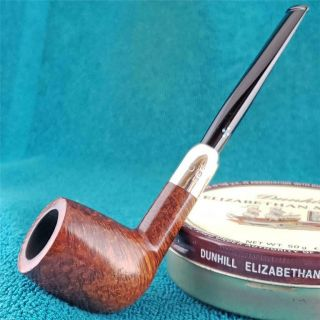 Family Era Sasieni Eight Dot Billiard English Estate Pipe Fishtail Logo Pre 1935