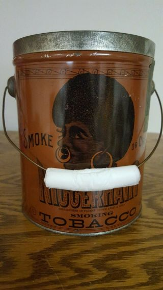 1941 Black Memorabilia Hair Tobacco Tin 11