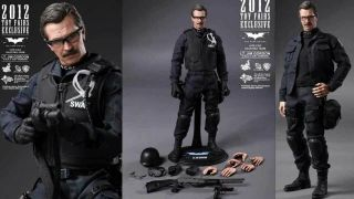 Hot Toys The Dark Knight Lt.  Jim Gordon S.  W.  A.  T.  Version 1/6 Action Figure
