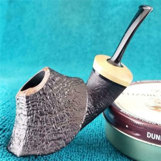 Unsmoked David Huber Wide Volcano Variant Freehand American Estate Pipe