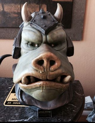 Sideshow Collectibles Life Size Star Wars Gamorrean Guard Bust Full Size 1:1