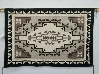 Navajo Rug Two Gray Hills,  Approx.  40 X 61