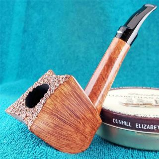 Very Baldo Baldi 360 Straight Grain Large Freehand Italian Estate Pipe