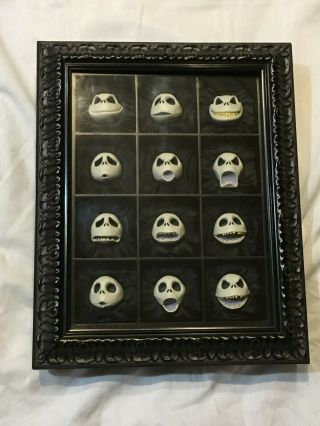 Twelve 12 Faces Of Jack Limited Edition 91/275 Tim Burton Signed 1993