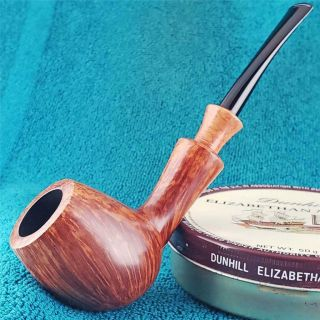 Peter Matzhold 360 Straight Grain Egg Freehand Austrian Estate Pipe