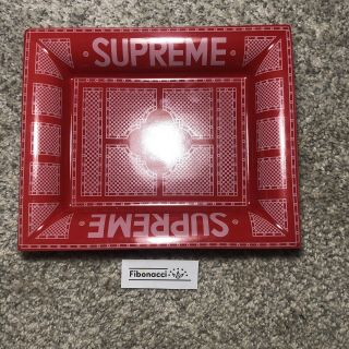 Supreme Ash Tray 2012ss Hermes Motif Ceramic Authentic