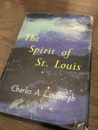 Charles Lindbergh Signed Book To Jack Swigert