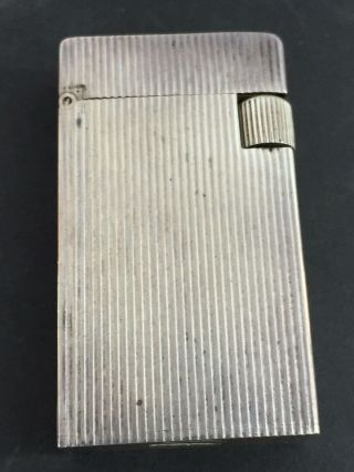 Sterling Silver Pocket Lighter - R.  Blackinton & Co.  - Similar Look To Dunhill