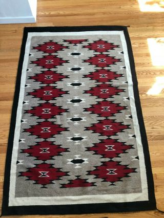 Eyedazzler Navajo Rug Or Weaving - 84 X 54 Inches; 7 X 4 ½ Feet – Southwest Chic