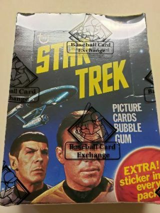 1976 Topps Star Trek Wax Box (bbce) Wrapped (36) Wax Packets