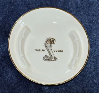 1960 ' s Shelby Cobra Ceramic Mug and Ashtray 2