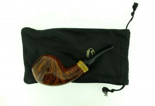 S.  BANG A BOXWOOD INSERT CHUBBY HORN PIPE UNSMOKED 3