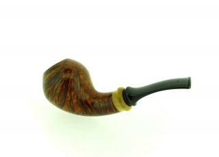 S.  BANG A BOXWOOD INSERT CHUBBY HORN PIPE UNSMOKED 6