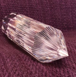 Optical Clarity Clear Quartz Crystal.  Vogel Phi.  77 - Gate/facet.  Gaia Earth Realm