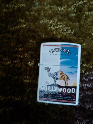 Camel Zippo Century Lighter Beginning Of Technocolor