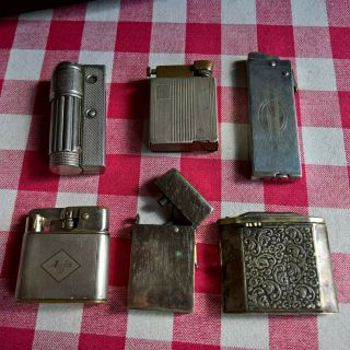 Non - Functional Lighters - Imco,  Thorens,  Imperator,  Altenpohl Pilgram,  Gama Etc.